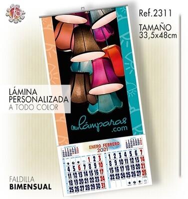 Calendario PARED ESPECIAL 33.5X48 BIM