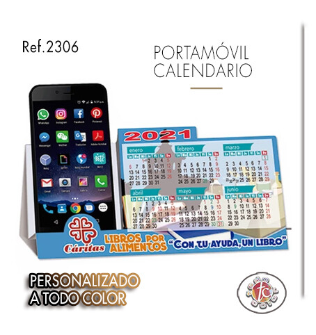 Calendario PORTA-MÓVIL