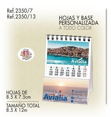Calendario Personalizado WIRE-O 8.5X12