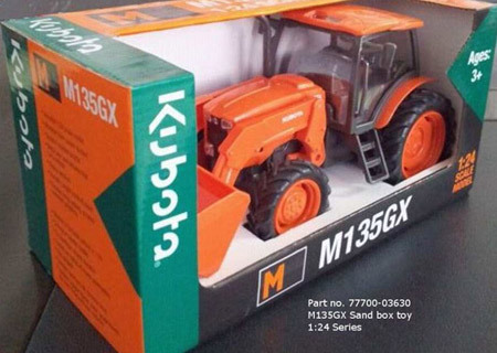 Kubota M135GX Sandbox Toy