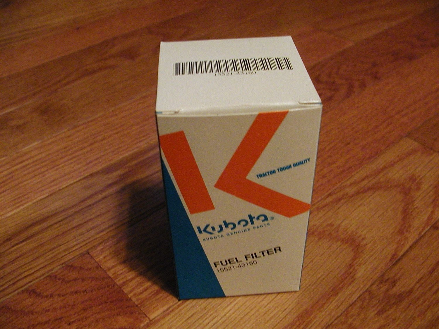 KUBOTA FUEL FILTER FITS MOST OF THE L SERIES TRACTORS.