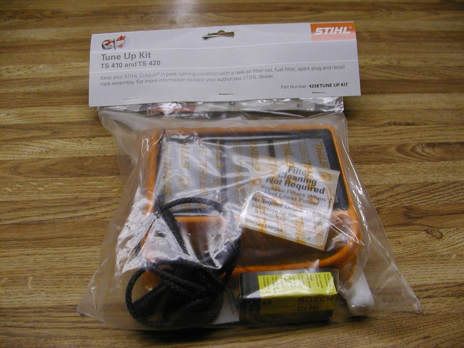 CUT-OFF MACHINE SERVICE KIT TS-410 AND TS-420 CUTOFF SAWS STIHL
