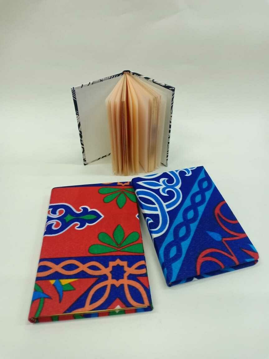 Ramadan fabric cover journal