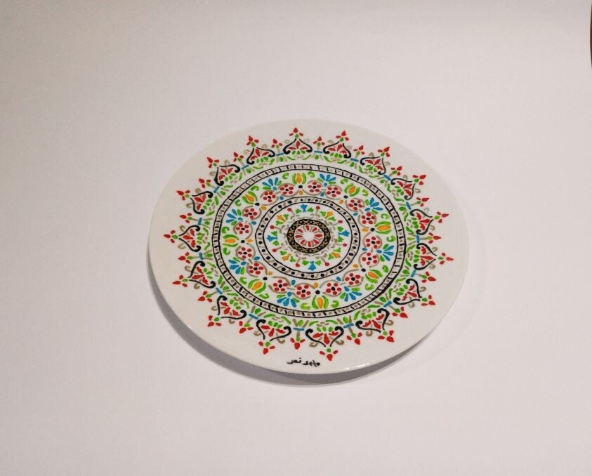 Ceramic plate 1