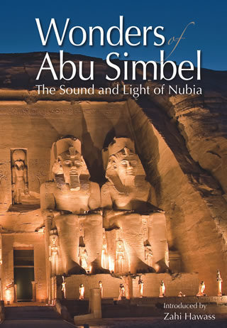 "Wonders of Abu Simbel  The Sound and Light of Nubia ""Soft Cover""  english edition"