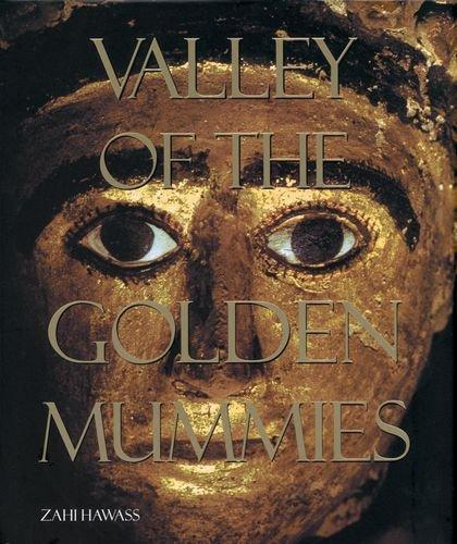 """Valley of the Golden Mummies """"hard Cover""""  english edition"""