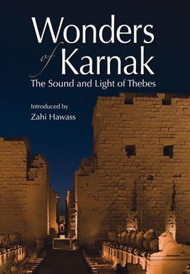 "Wonders of Karnak  The Sound and Light of Thebes ""Soft Cover""  english edition"