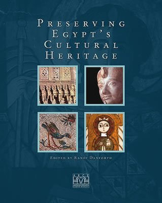 "Preserving Egypt's Cultural Heritage ""hard Cover""  english edition"
