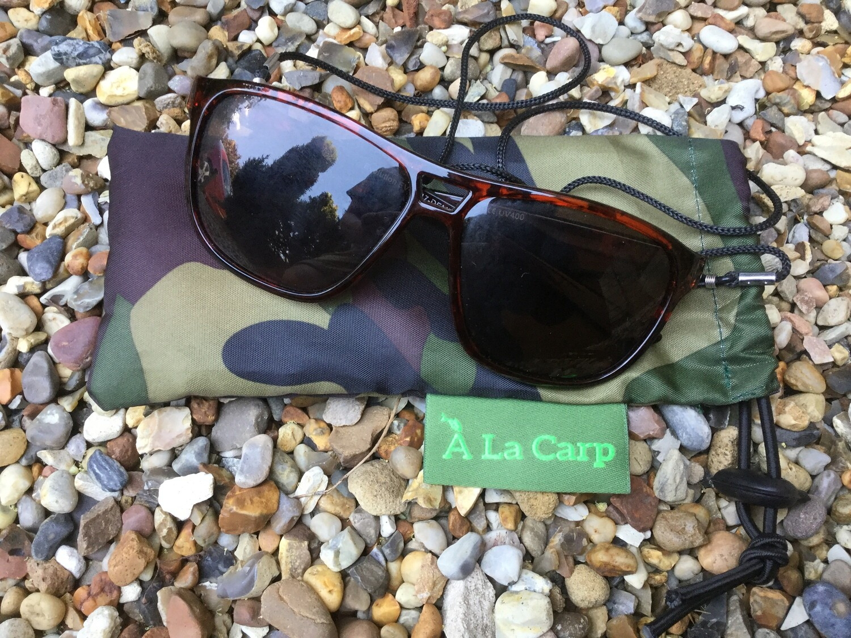 `A La Carp Polaroid glasses pouch  (18 cm x 8.5 cm ) Free UK Delivery