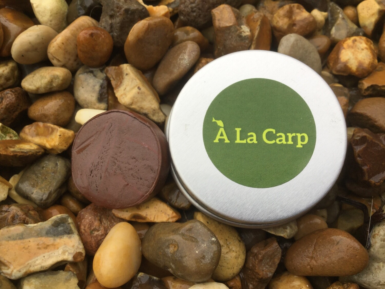 `A La Carp Tungsten Putty Gravel Brown 20 g Free UK Delivery