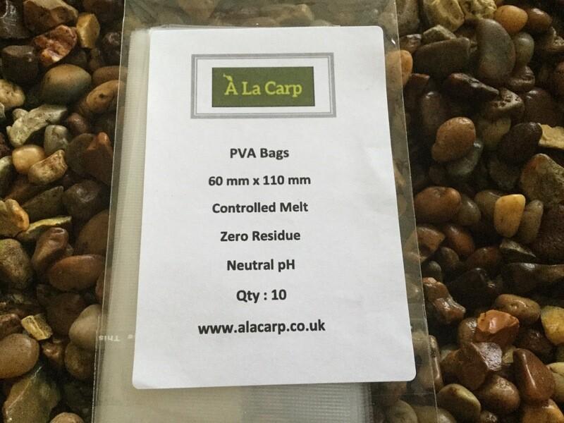 PVA Bags  60 x 110mm (Qty: 10)