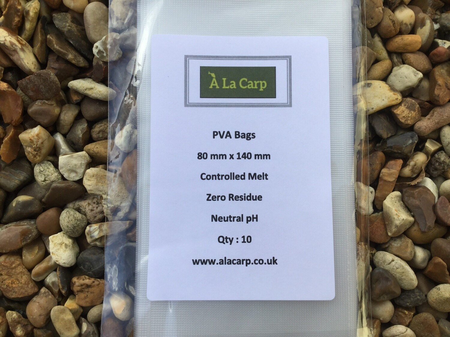 PVA Bags 80 x 140 mm (Qty: 10) Free UK Delivery