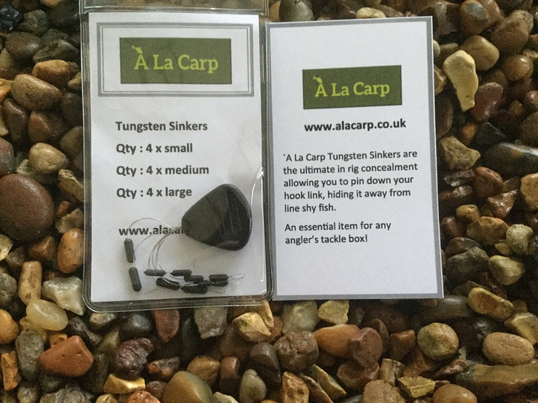 `A La Carp Tungsten Sinkers (Qty: 12) Free UK Delivery