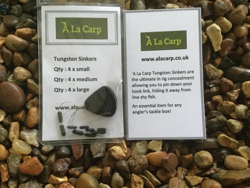 Tungsten Sinkers (Qty: 12)