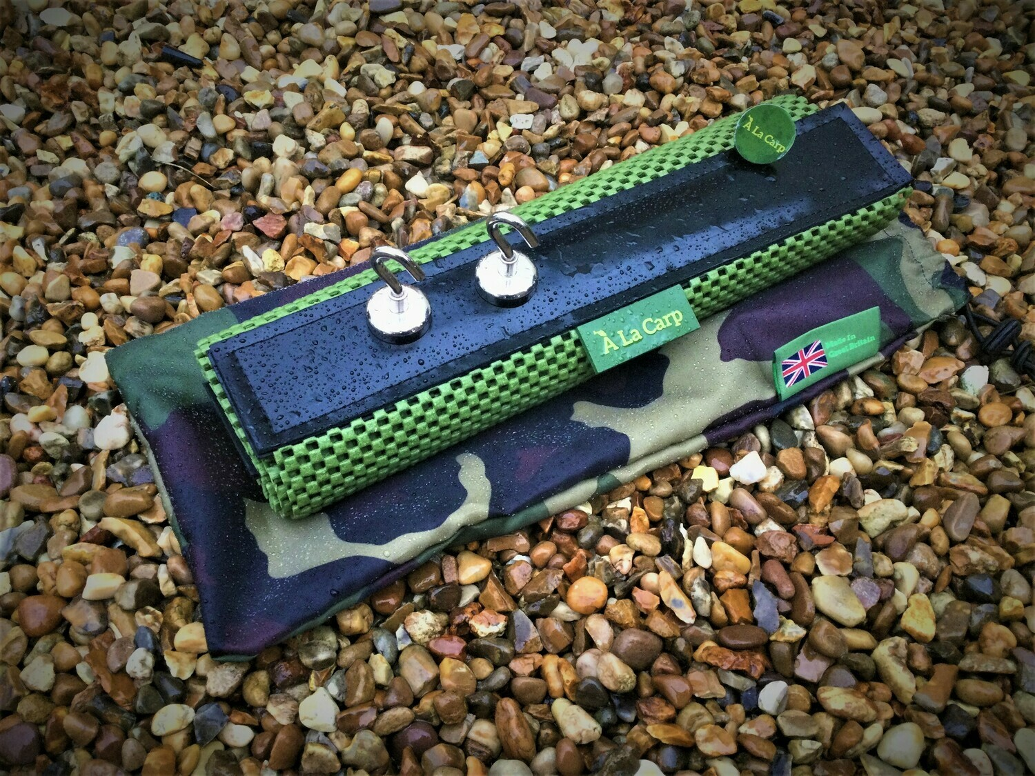 BUNDLE DEAL - Bivvy Top Work Mat Includes x3 Magnetic Hooks
