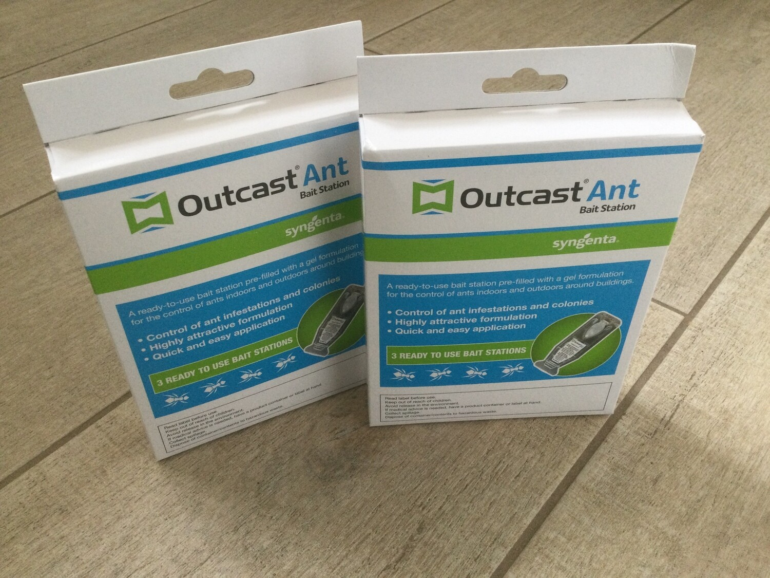 Outcast Ant Bait Station - Pack of 6