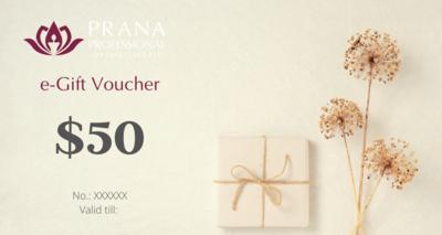 e-Gift Voucher $50
