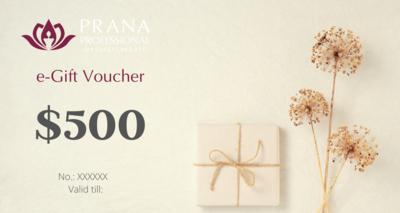 e-Gift Voucher $500