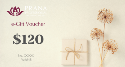 e-Gift Voucher $120