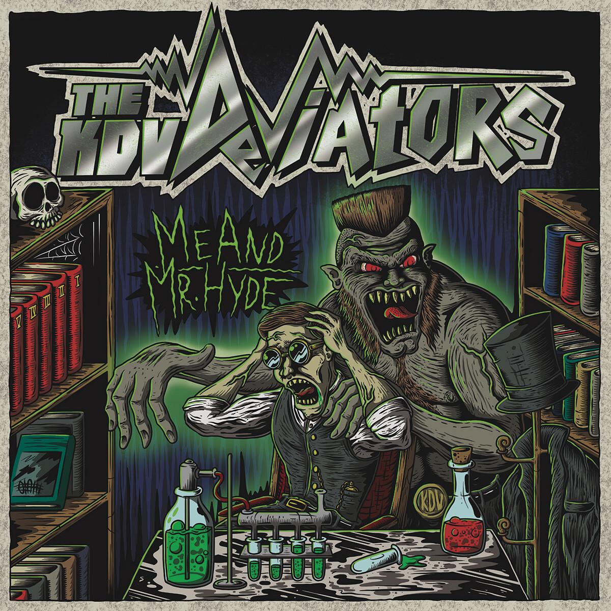 "THE KDV DEVIATORS ""Me and Mr.Hyde"" 2018 EP"