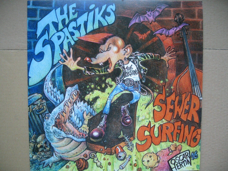 "SPASTIKS - ""Sewer Surfing"""