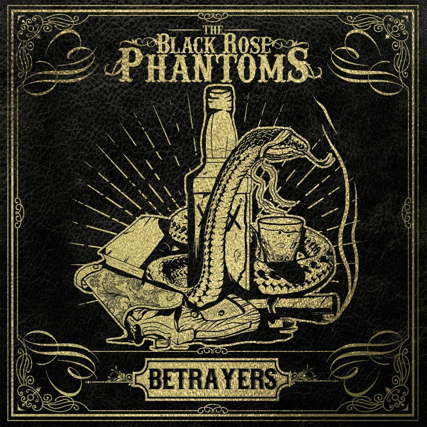 """BLACK ROSE PHANTOMS - Betrayers"""