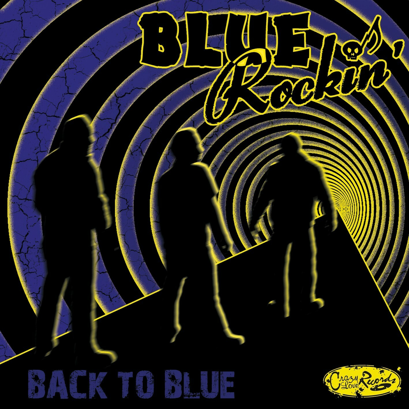 "BLUE ROCKIN' - ""Back To Blue"""