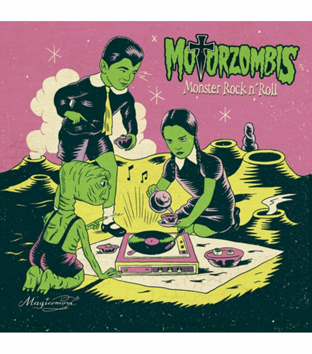 "MOTORZOMBIS ""Monster Rock and Roll"" LP"