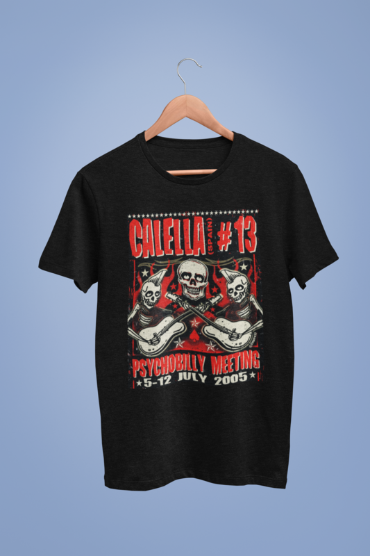 PSYCHOBILLY MEETING 2005 T-SHIRT MEN by EMPIRE 32