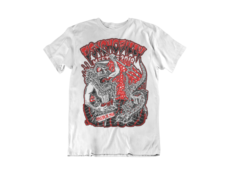 PSYCHOBILLY MEETING 2018 T-SHIRT MAN BY OLAFH