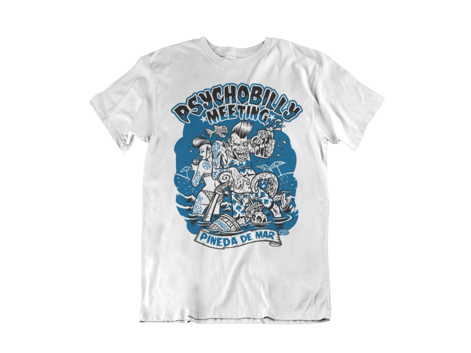 PSYCHOBILLY MEETING 2019 T-SHIRT MAN BY PASKAL