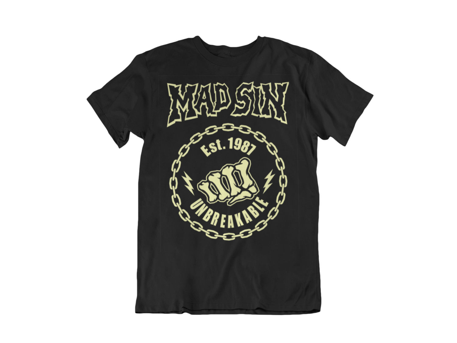 "MAD SIN  T-SHIRT ""UNBREAKABLE"" MEN"