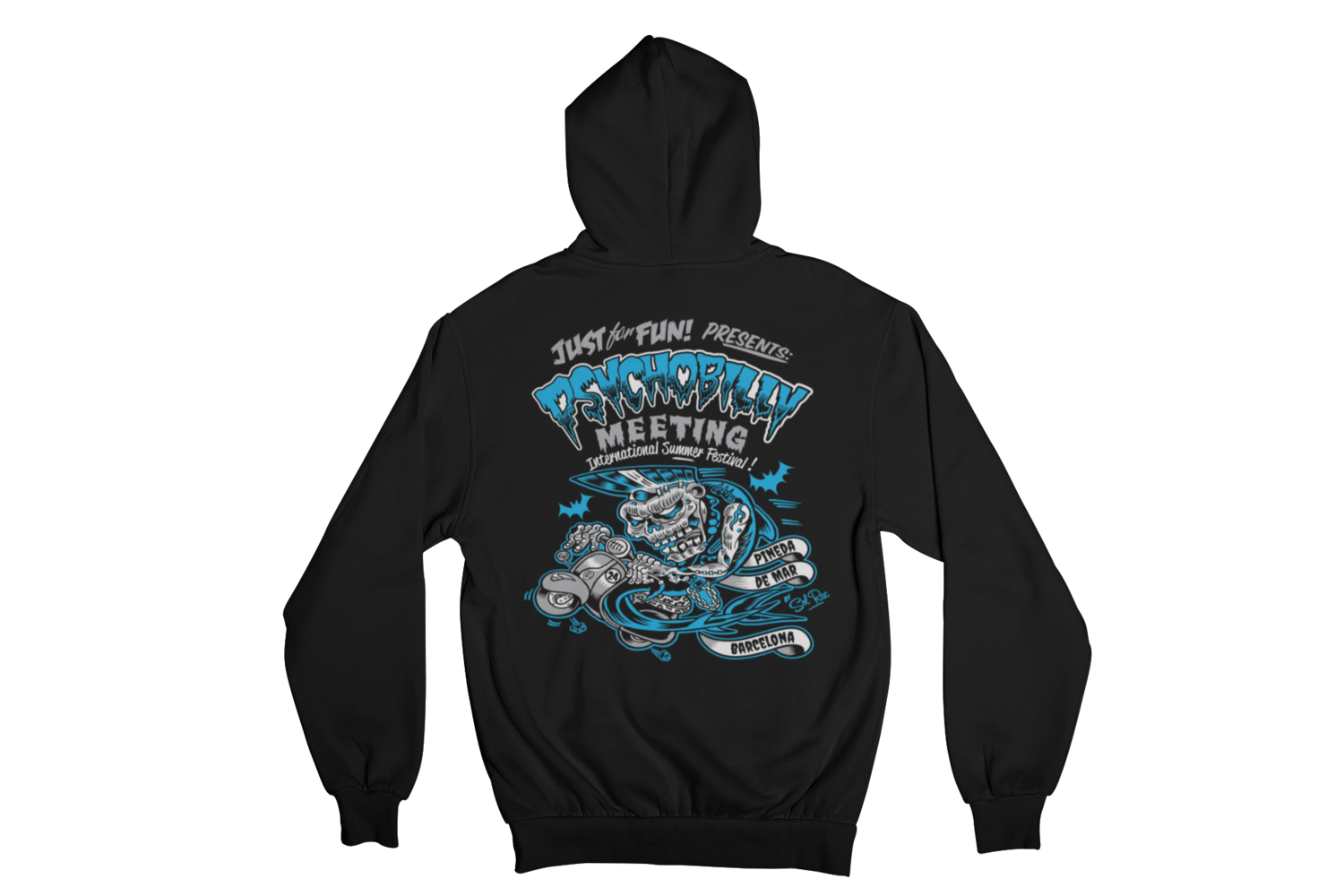 PSYCHOBILLY MEETING 2016 Hoodie ZIP by SOLRAC MEN