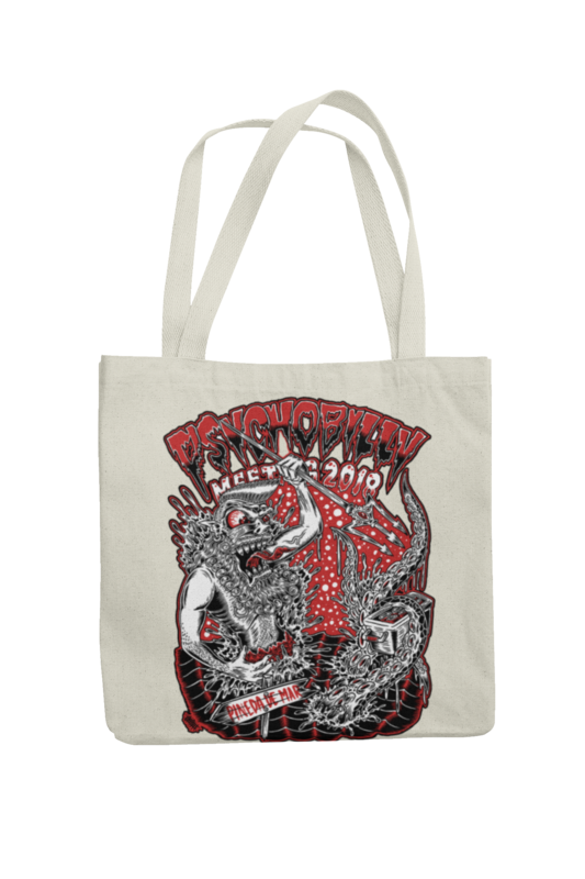 Cotton Bag Psychobilly meeting design by Olafh 2018