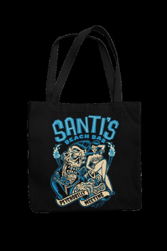 Cotton Bag Santi´s beach bar design by Solrac 2019