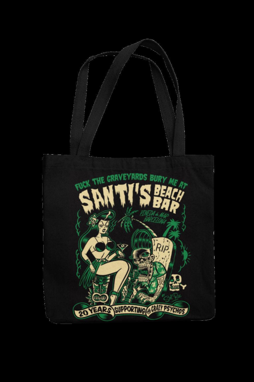 Cotton Bag Santi´s beach bar design by Solrac 2012