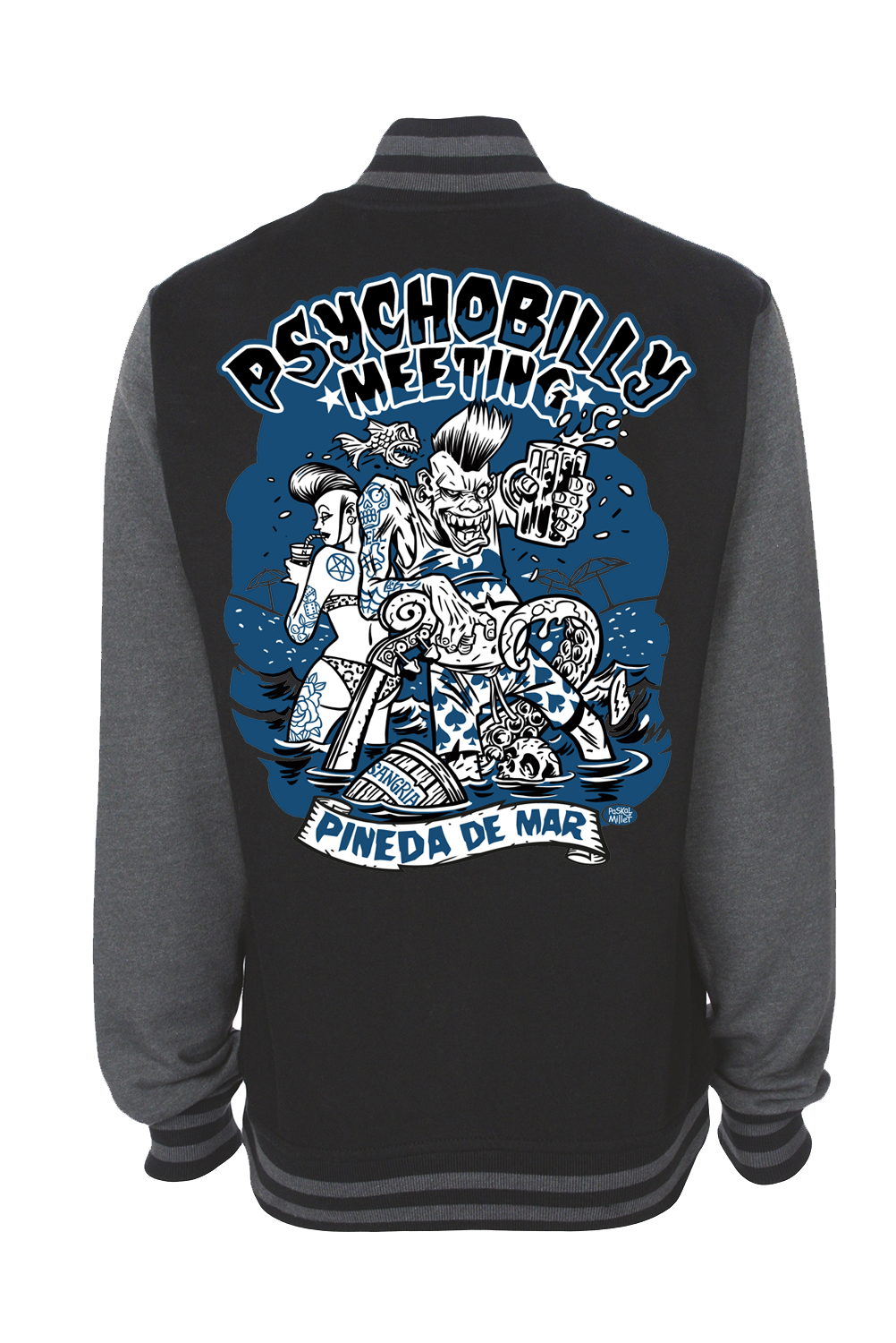 VARSITY PSYCHOBILLY MEETING 2019 UNISEX BY PASKAL