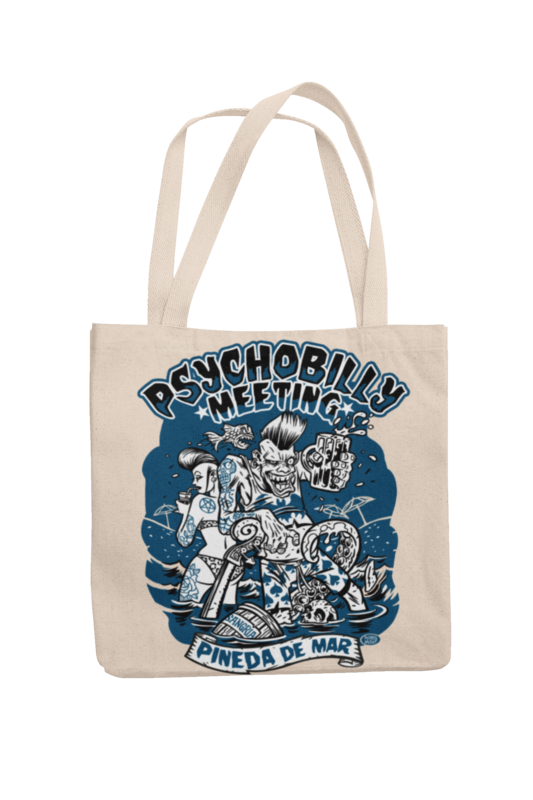 Cotton Bag Psychobilly meeting design by PASKAL 2019