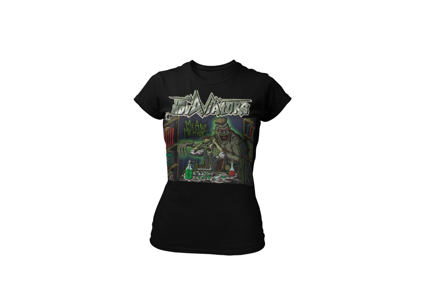 "KDV DEVIATORS ""Me & Mr Hyde"" T-SHIRT WOMEN by OLAFH"