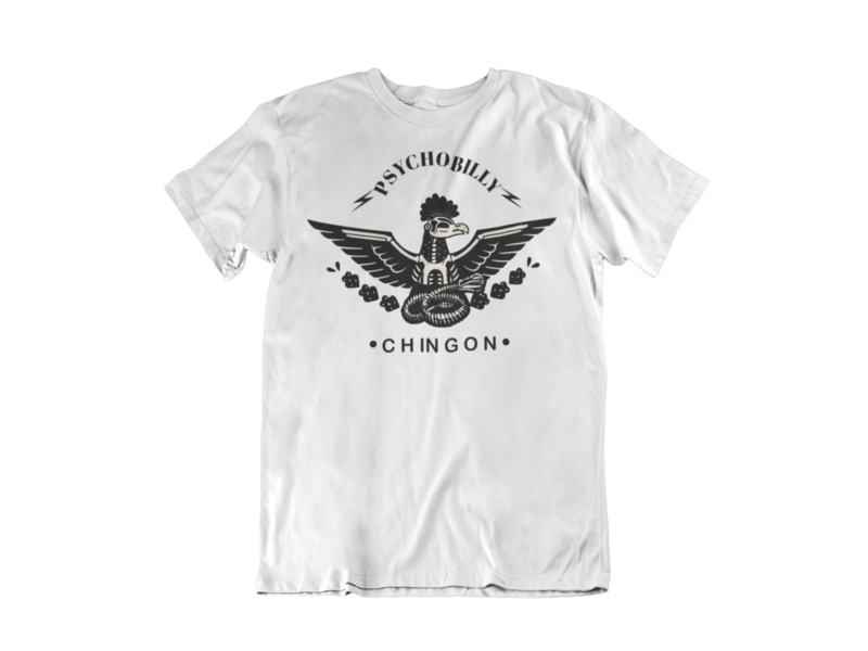 PSYCHOBILLY CHINGON T-SHIRT FOR MEN