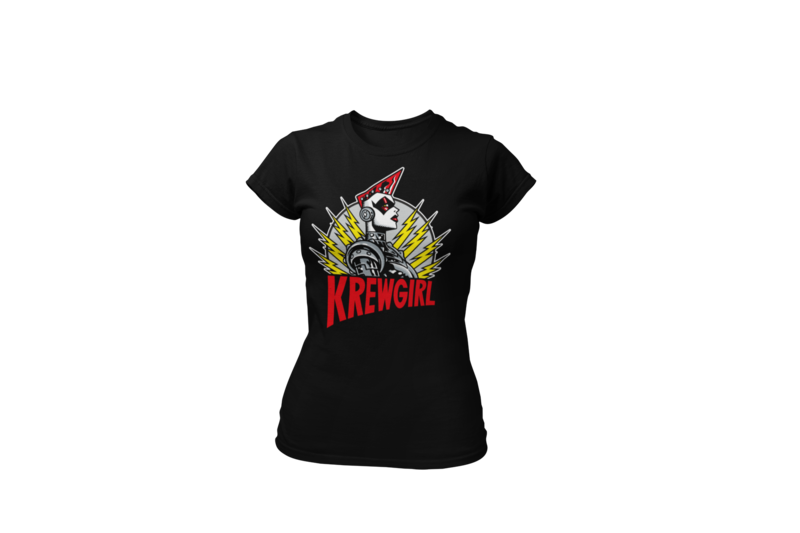 KREWGIRL  tshirt for WOMEN by PASKAL
