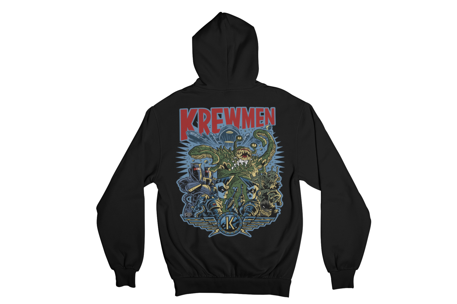 KREWMEN  HOODIE ZIP for MEN by PASKAL