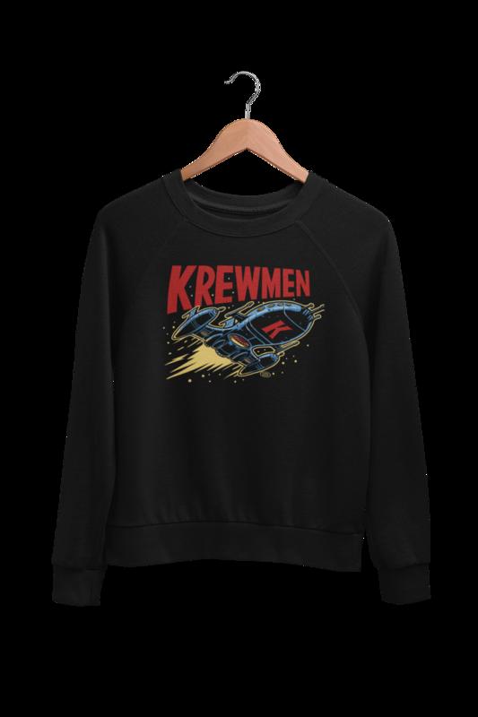 KREWMEN LOGO SWEATSHIRT by PASKAL UNISEX