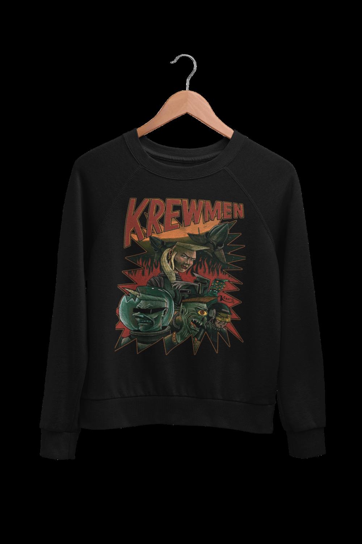 KREWMEN SWEATSHIRT by KING RAT DESIGN UNISEX