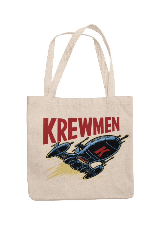 KREWMEN LOGO Cotton Bag  logo design PASKAL