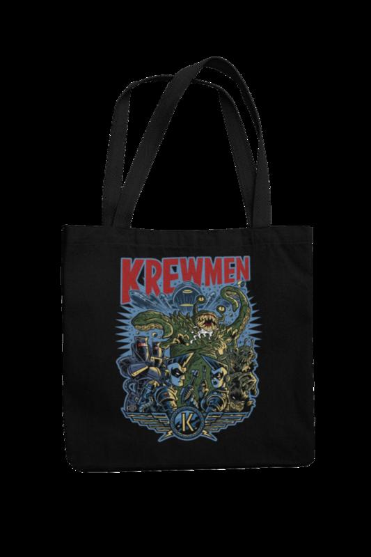KREWMEN Cotton Bag  logo design PASKAL