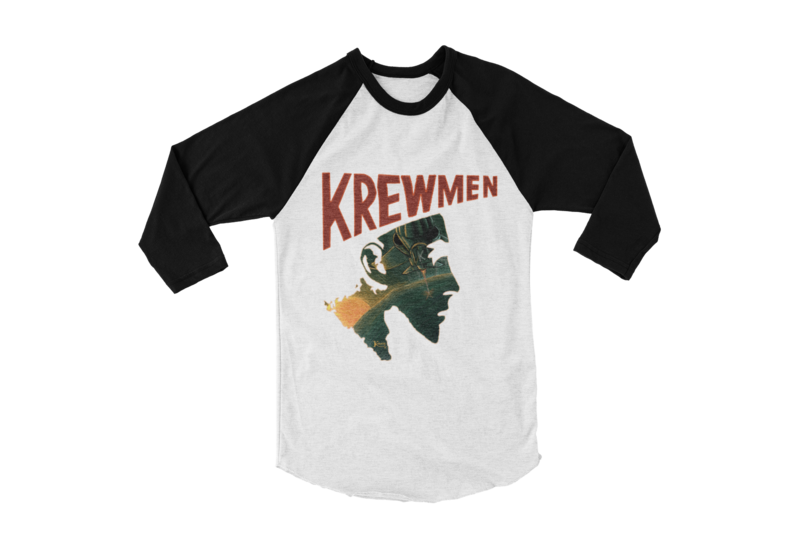 KREWMEN LOGO BASEBALL UNISEX LONG SLEEVE By KING RAT