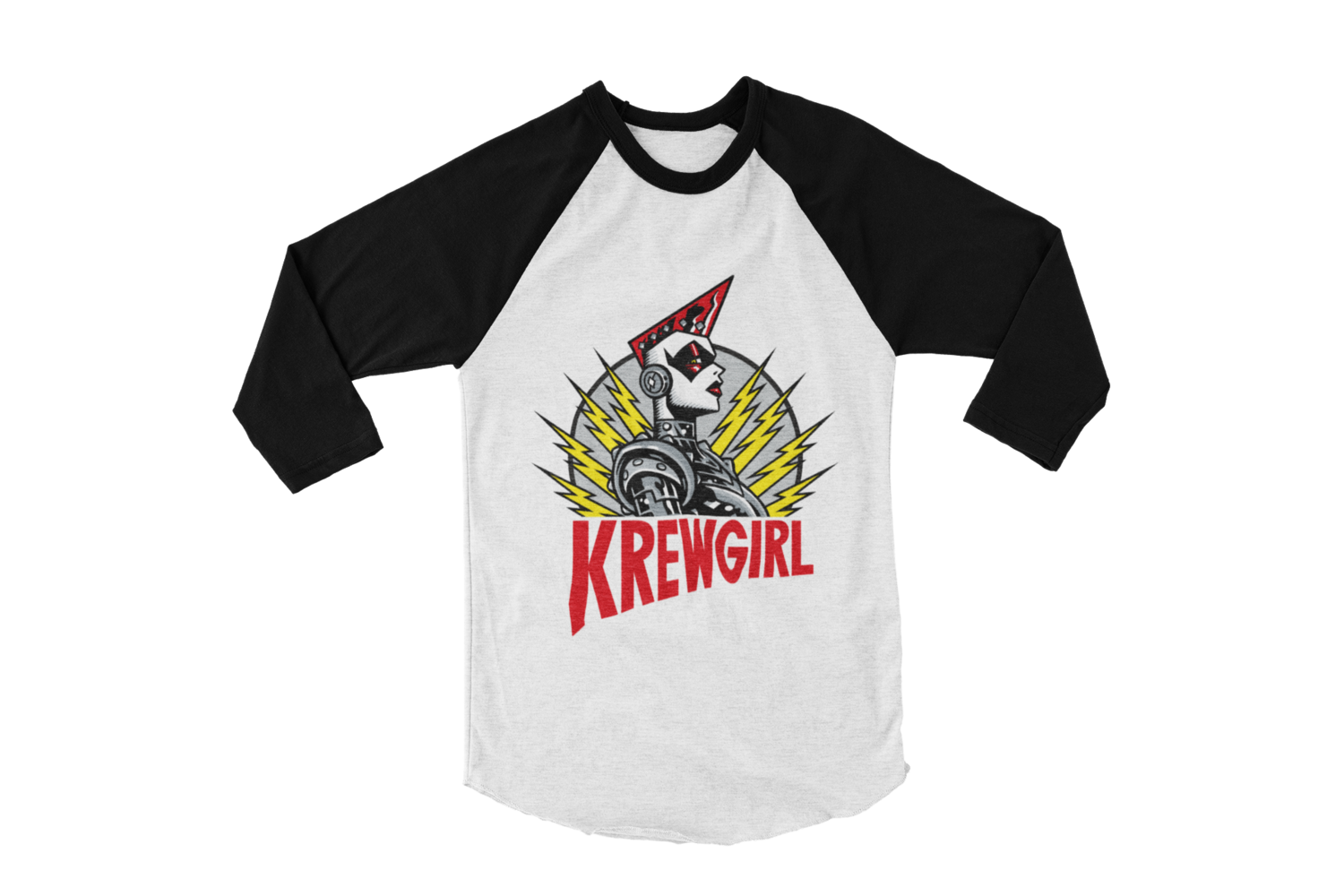 KREWGIRL LOGO BASEBALL LONG SLEEVE By PASKAL UNISEX