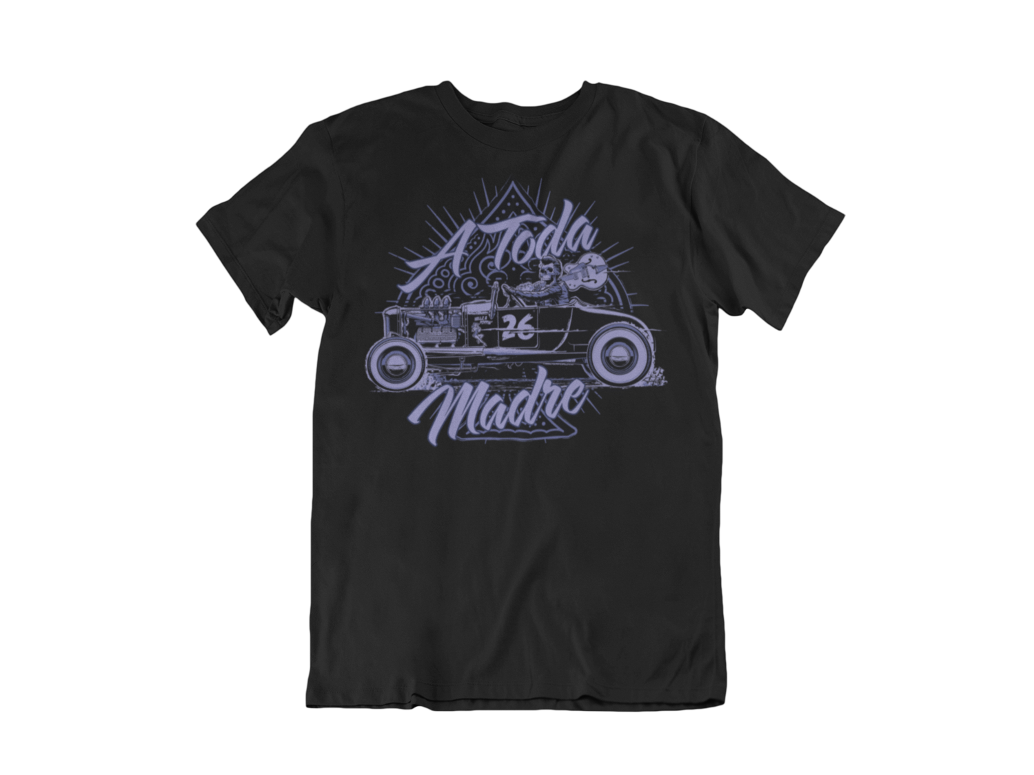 """A TODA MADRE  T-SHIRT MAN BY Ger """"Dutch Courage"""" Peters artwork"""