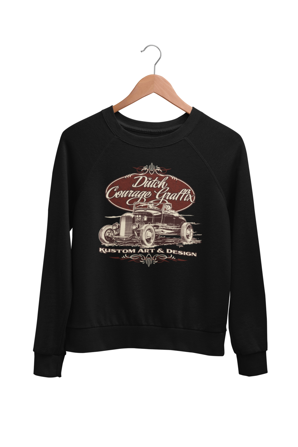 "DUTCH COURAGE GRAFFIX SWEATSHIRT UNISEX by BY Ger ""Dutch Courage"" Peters artwork"